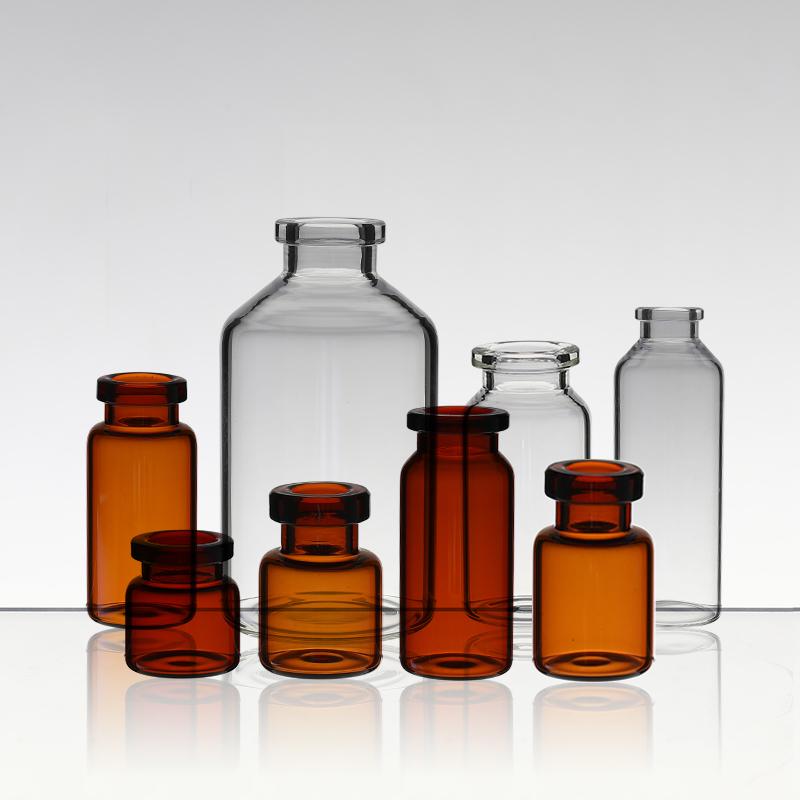 中硼硅玻璃管制注射剂瓶